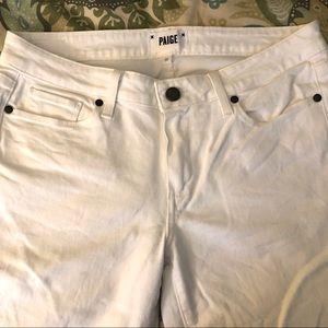PAIGE Kylie Crop white jeans - Size 30
